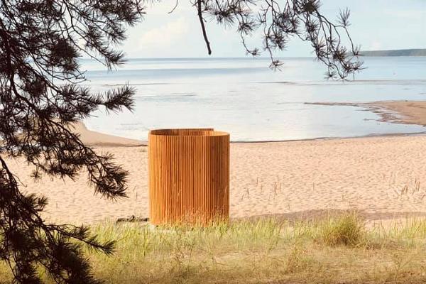 Võsu Beach, changing cabin