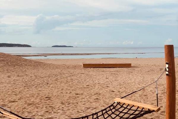 Võsu Beach, hammock