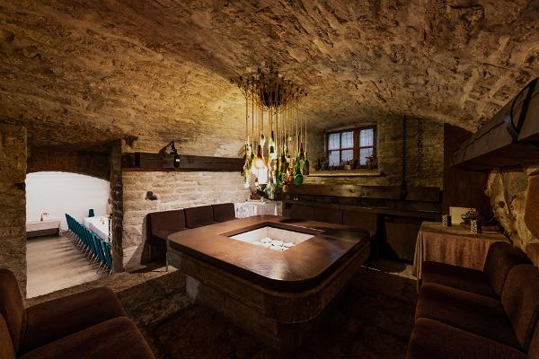 Räume im Schloss Glehn
