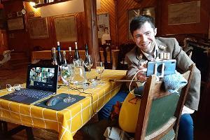 """Vīna darītavas """"Valgejõe Veinivilla"""" apmeklējums"""