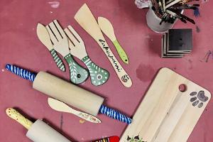 Vaas&Vaas workshops för att designa inredningsobjekt av trä
