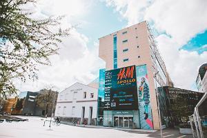 Pärnus turistinformation i Pärnu Keskus köpcentrum