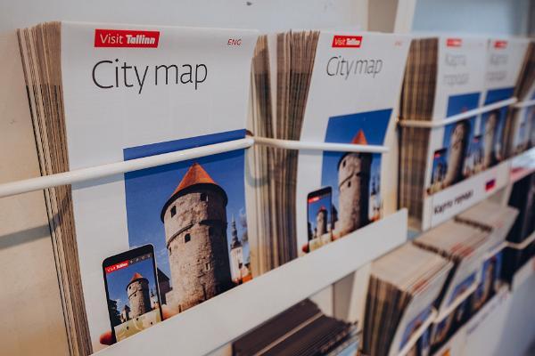 Touristeninformation in Tallinn