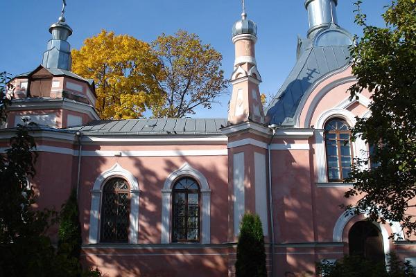 Die Russisch-Orthodoxe Georgskirche