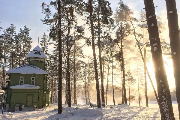 Reegi maja; talv