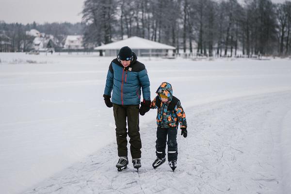 Viljandi järve looduslik uisurada