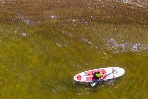 Saarjärvel on võimalik ka veesporti harrastada