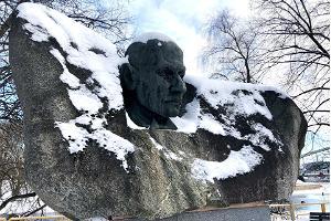 Oskar Luts skulptur