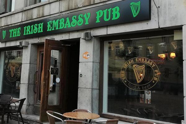 Паб The Irish Embassy Pub в Тарту