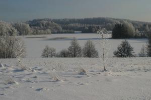 Pühajärv im Winter