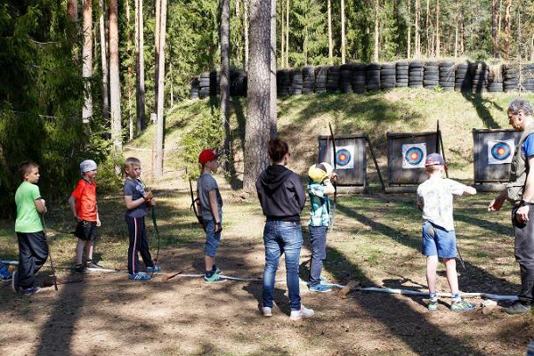 Tartu läns Hälsosportcentrums bågskyttebana