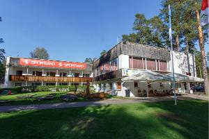 Bogenschießanlage des Gesundheitssportzentrums des Landkreises Tartu