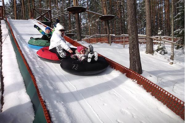 Alutaguse Adventure Park tube track