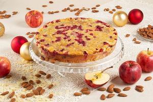 Cranberry-almond tosca from Pagaripoisid cafe on Küüni tänav