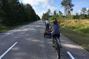 Cykeltur kring Ösel