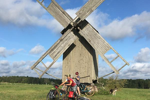 Self-guided bicycle tour Western Estonia and Islands