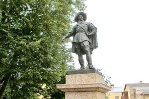 Kustaa II Aadolfin patsas