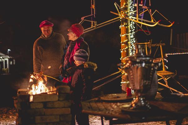 Peipusa reģiona Apmeklētāju centra Ziemassvētku svinības