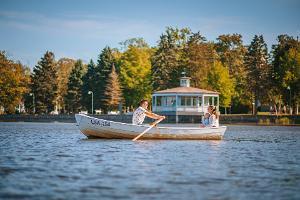 Прокат лодок на Хаапсалуском Променаде