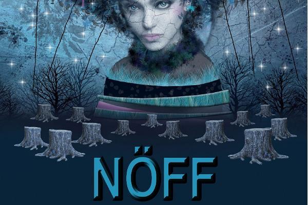 Naiste ööde filmifestival NÖFF plakat, hunt, naine