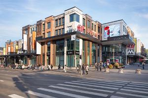 Geschäfts- und Freizeitzentrum Kvartal von außen