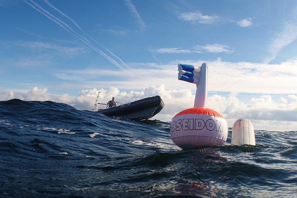 Läänemerel sukeldumas.