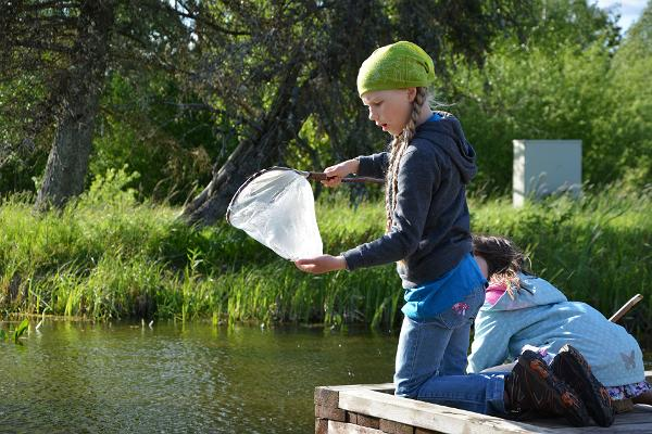 Nature trips for children in Soomaa