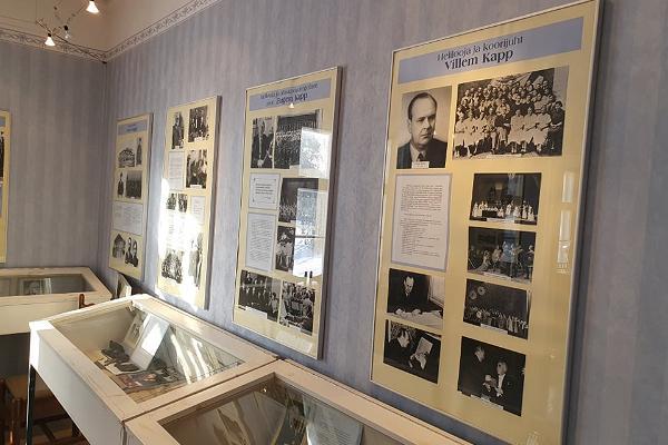 Heliloojate Kappide majamuuseumi heliloomingu töötuba