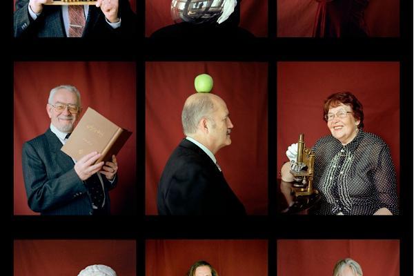"Photo exhibition ""Put on Your Thinking Cap! The Hundred Faces of the University of Tartu"""