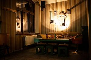 Bar Trepp and its cosy interior