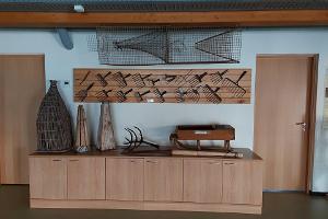 Historisches Fischfanggerät im Seemuseum