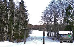 Tehvandi disc-golfi park talvel