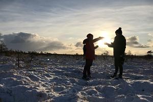 Matk Kõnnu Suursoo rabas ja Eesti saun algusega Tallinnast