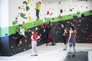 Ministry of Climbing Tartu offers something for the whole family