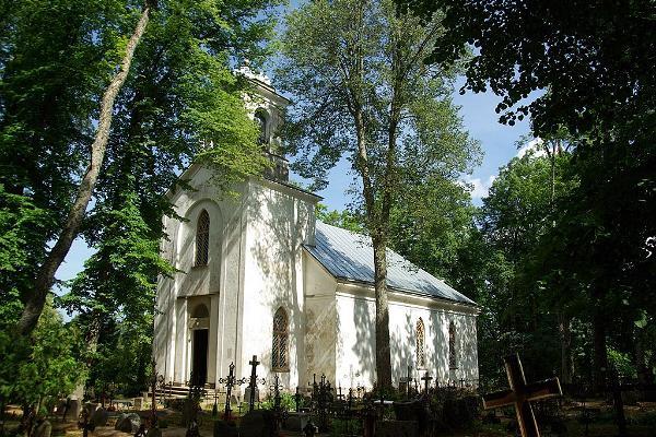 Ilumäes kapell och kyrkogård