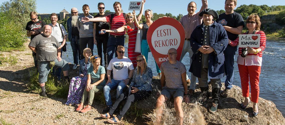 Ida-Virumaa on Eesti rekorditemaa, Visit Estonia