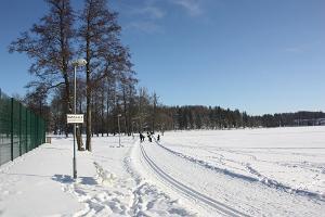 Pühajärve-Kääriku liikumisrada talvel