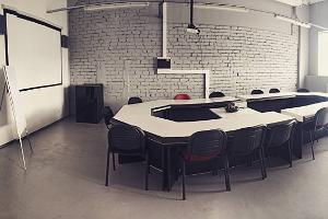 Помещение для проведения семинаров в Тартуском дрифт-зале