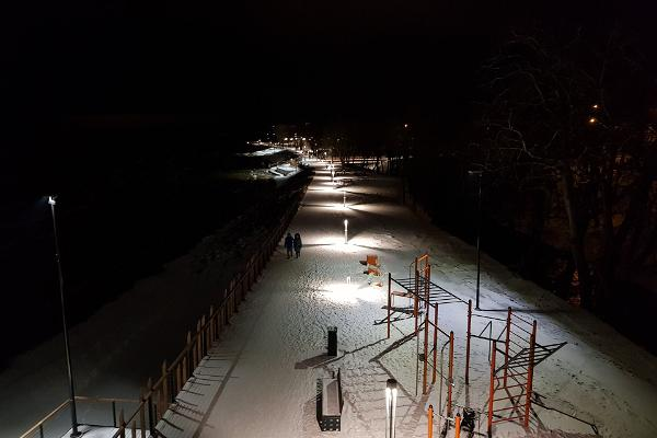 Sillamäe beach promenade outdoor gym
