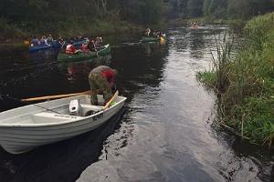 Kanuuga Navesti jõel