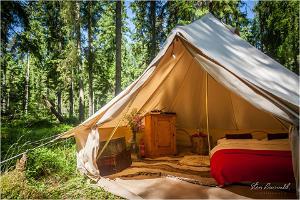 Projekt-Kodu Retreat & Eco-Hostel romantiline kahene tuba