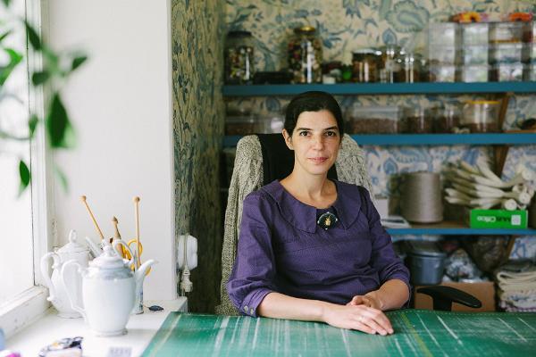 Kuldtikandi meistriklass - Lilian Bristol