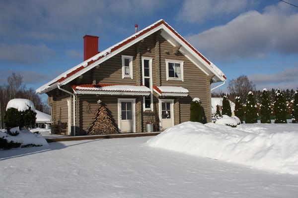 Veerpalu Villa talvel