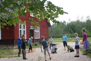 Naturschule von Tipu in Soomaa