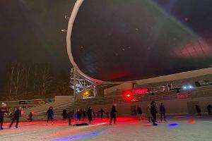Eisbahn im Erholungspark Tähtvere