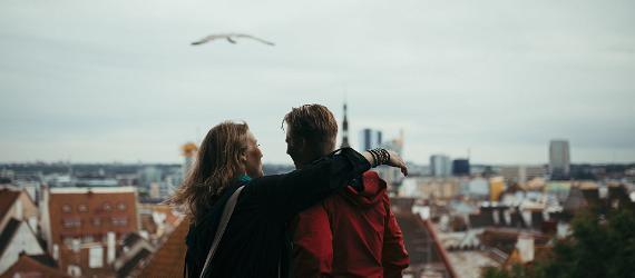 Medeltidsromantik, kyssberg och en hjärtformad sjö - Estland firar Alla hjärtans dag!