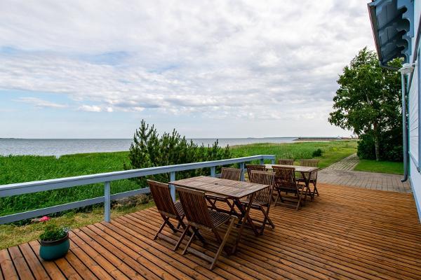 Villa Kuus Sõlme, terrace