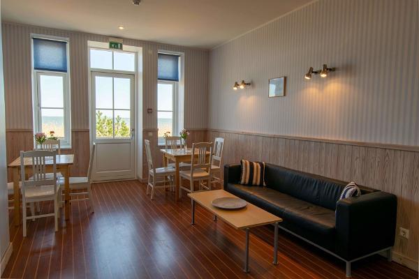 Villa Kuus Sõlme, living room