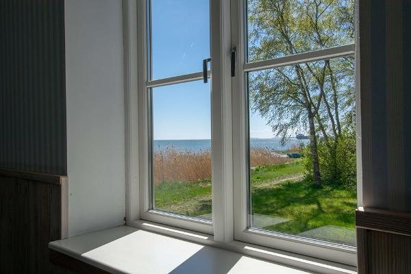 Villa Kuus Sõlme, view from bedroom 1