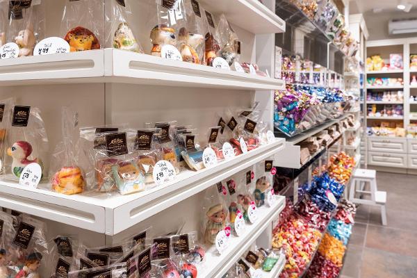 Kalev Chocolate Shop in Tartu